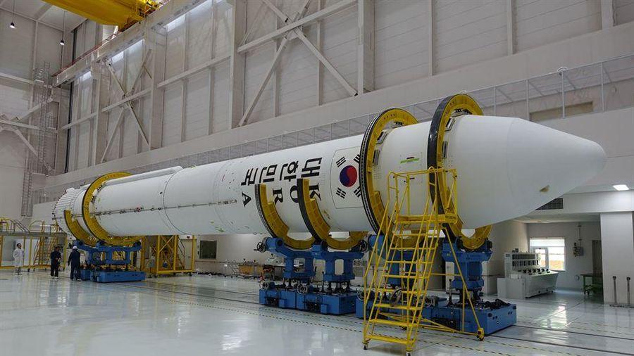 Hàn Quốc thử nghiệm động cơ tên lửa vũ trụ tự sản xuất