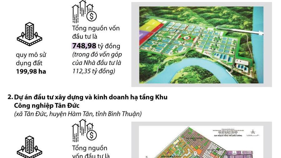 Duyệt chủ trương đầu tư hạ tầng tại 3 khu công nghiệp