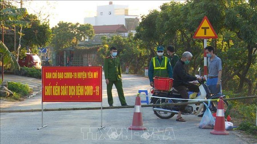 Dỡ bỏ phong tỏa xã Yên Phú (Hưng Yên)
