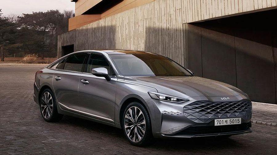 Lộ diện xe sedan hoàn toàn mới của Kia