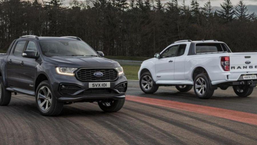 Ford Ranger 2022 sẽ có phiên bản hybrid hoàn toàn mới