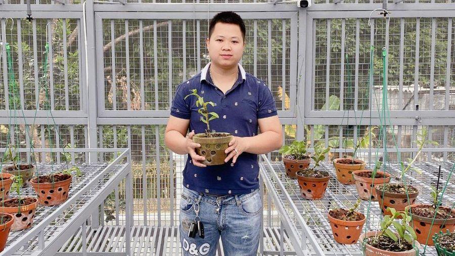 Chủ vườn lan trẻ Đặng Khải Hoàn và câu chuyện khởi nghiệp của người trẻ Việt