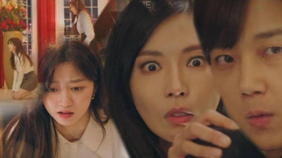 'Penthouse 2' tập 3: Bae Rona quỳ lạy để về phe 'cô giáo' Cheon Seo Jin, Ha Yoon Cheol cưỡng hôn vợ cũ
