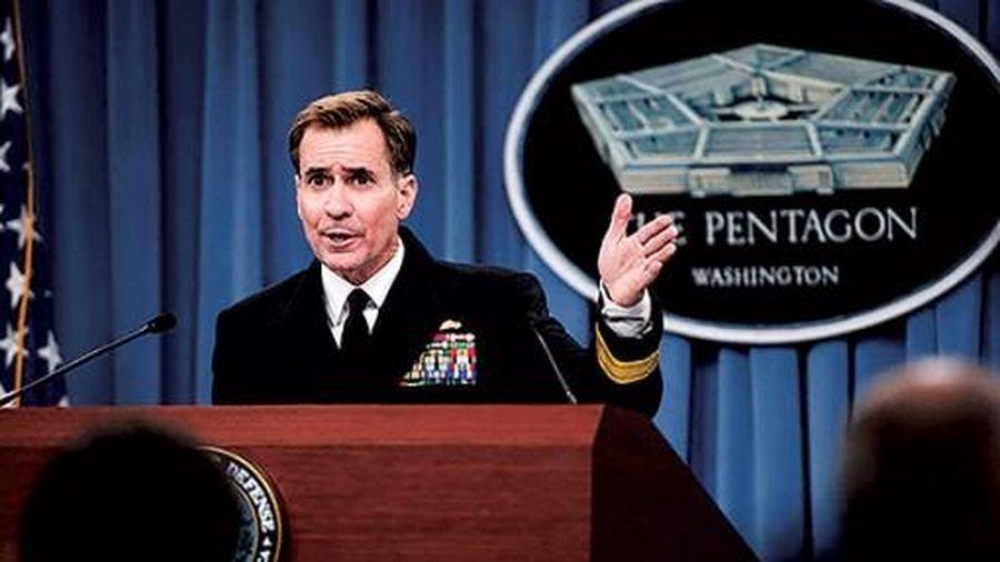 Động thái quân sự đầu tiên của ông Biden
