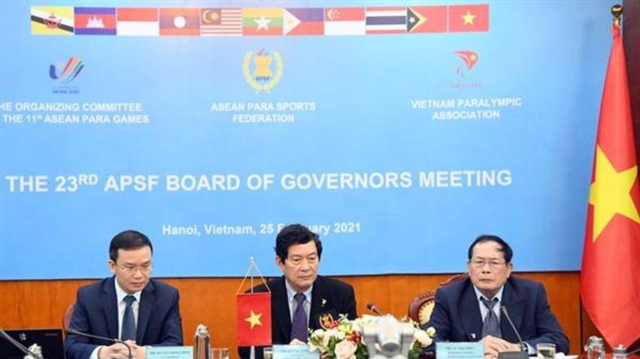 Việt Nam tổ chức 11 môn ở ASEAN Para Games 2021