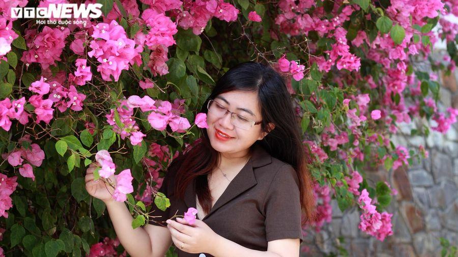 Những con đường hoa giấy 'cực phẩm' gây bão ở Vũng Tàu