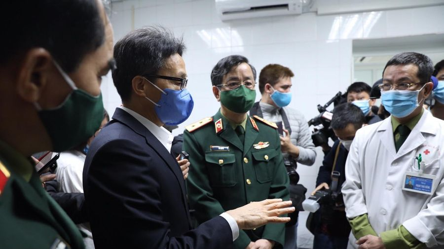PTT Vũ Đức Đam: 'Sản xuất vaccine COVID-19 là đáp ứng mong mỏi của nhân dân'