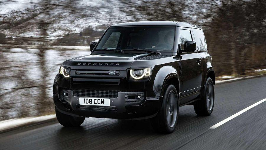 Land Rover Defender V8 2022: Phiên bản nâng cấp động cơ V8 siêu nạp 5.0L đem đến sức mạnh vượt trội