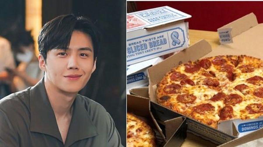 Fan của 'nam phụ quốc dân' Kim Seon Ho (Start-Up) đề nghị tiệm pizza in hình idol lên hộp, ai ngờ được đồng ý