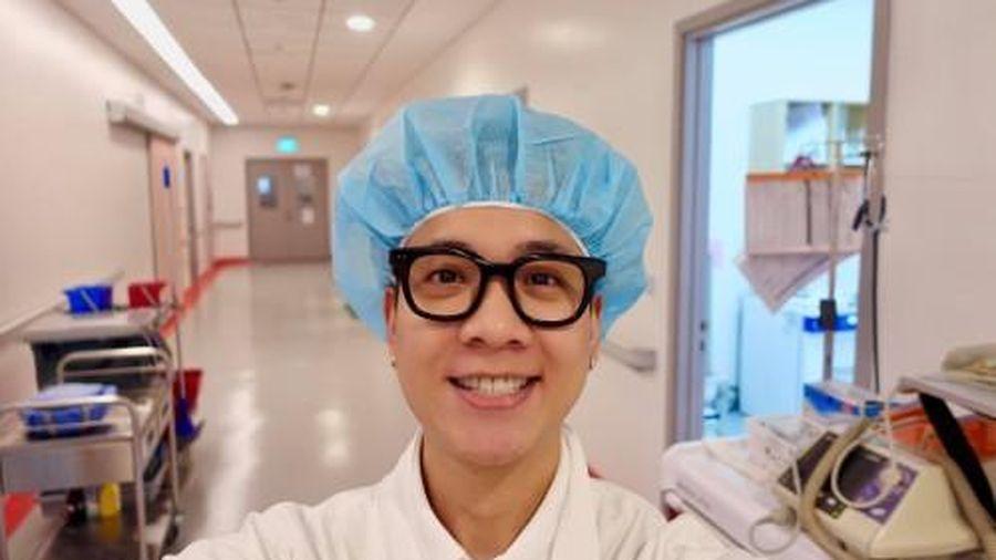 JustaTee thông báo bà xã Trâm Anh 'vượt cạn' thành công, hàng loạt sao Việt gửi lời chúc mừng