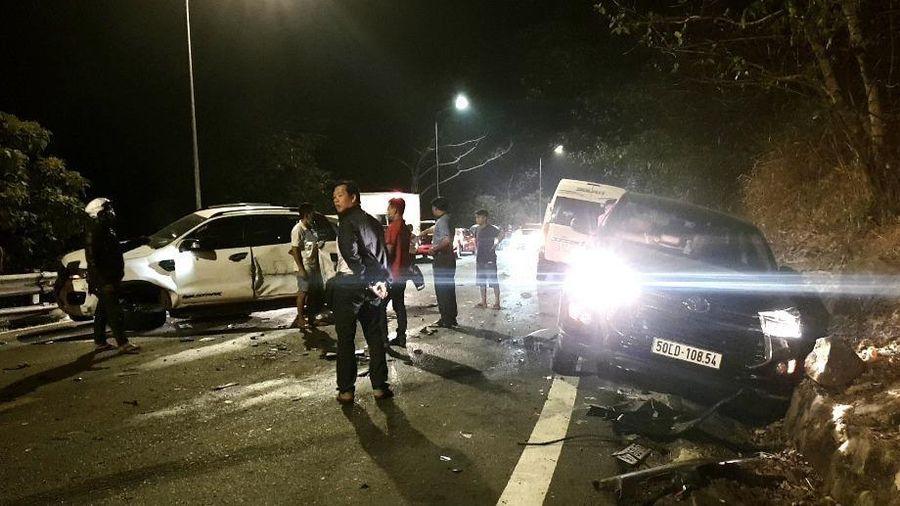 Công an làm việc với 6 tài xế vụ tai nạn trên đèo Bảo Lộc