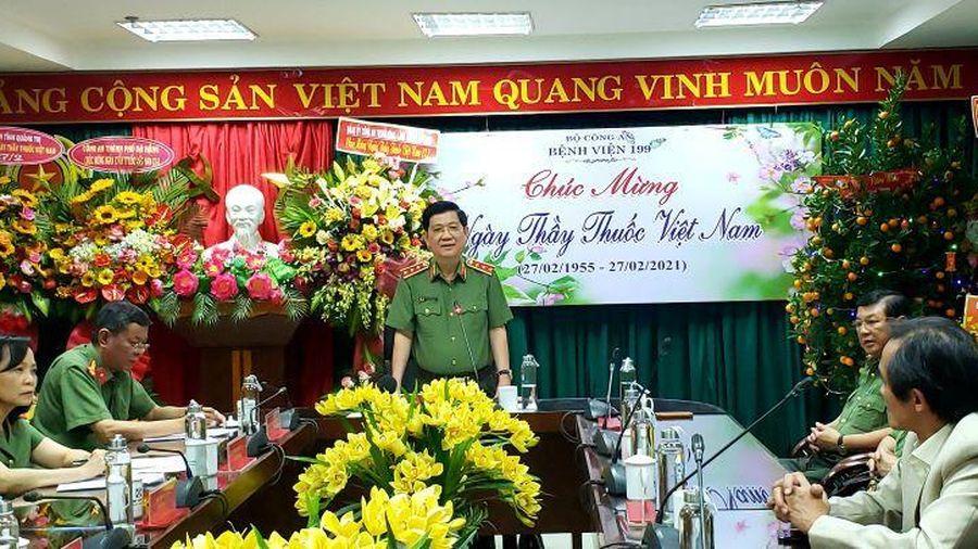 Thượng tướng Nguyễn Văn Sơn thăm Bệnh viện 199