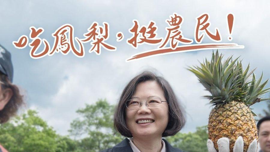 Đài Loan kêu gọi dân ăn dứa để phản đối Trung Quốc