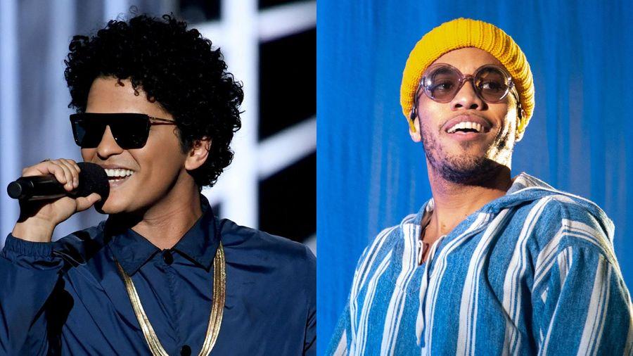 Bruno Mars lập ban nhạc với rapper Anderson .Paak