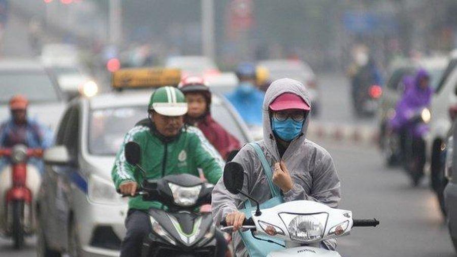 Hà Nội tiếp tục có mưa và mưa nhỏ rải rác, trời lạnh sâu