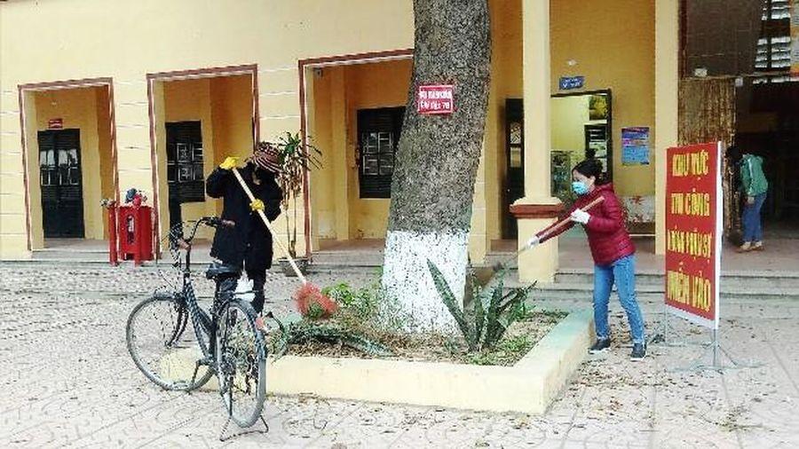 Sóc Sơn chuẩn bị các điều kiện sẵn sàng đón học sinh trở lại trường
