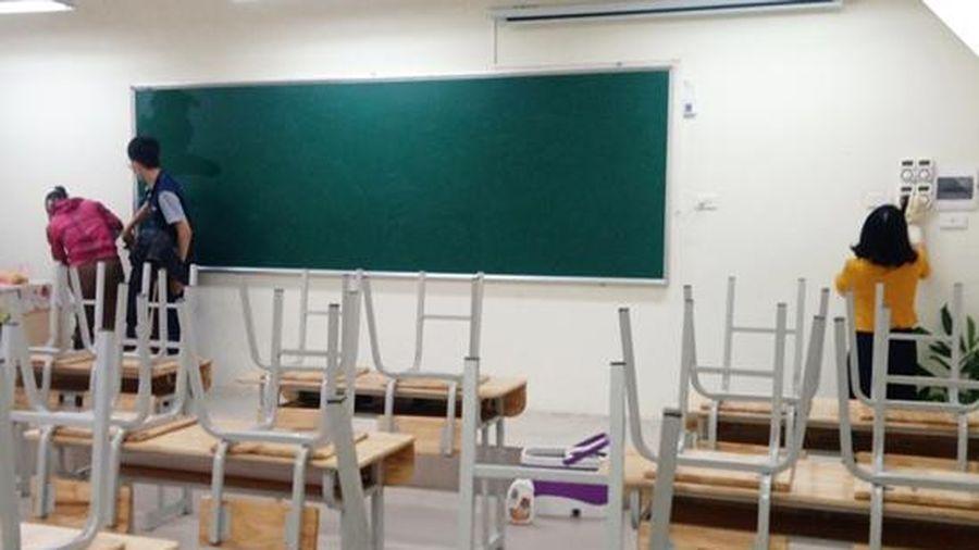 Hà Đông sẵn sàng các điều kiện cho học sinh trở lại trường sau kỳ nghỉ dịch bệnh Covid-19