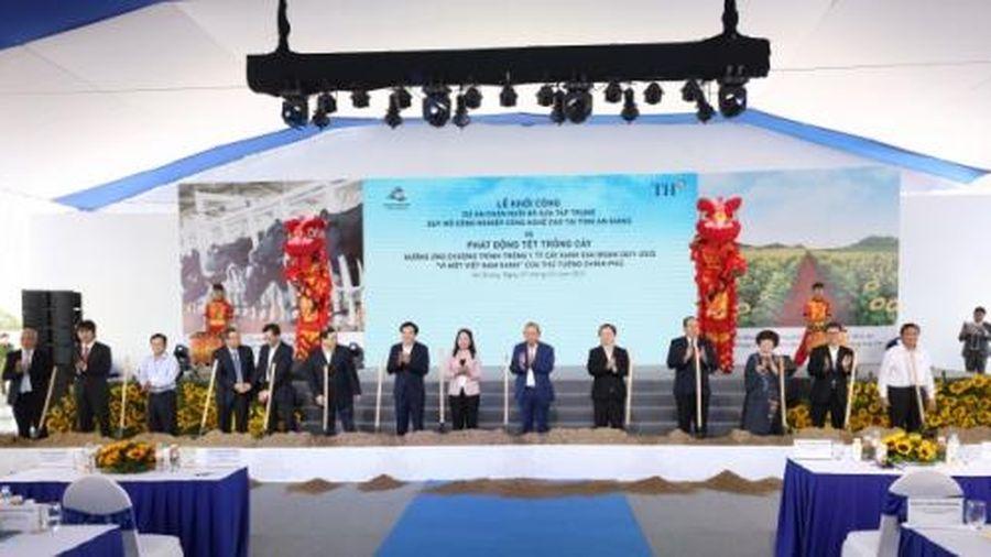 Khởi công dự án bò sữa trên 2.650 tỷ đồng tại An Giang