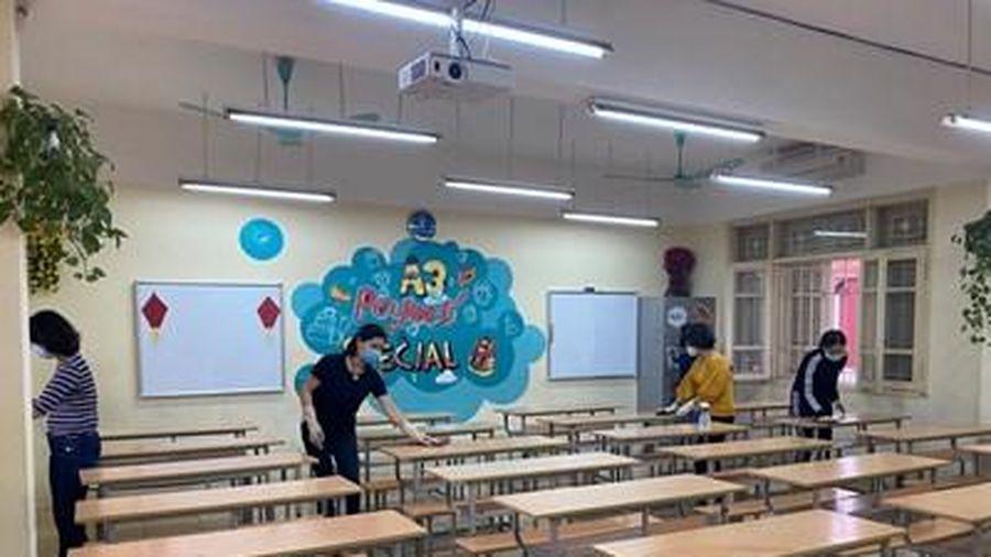 Sẵn sàng đón học sinh trở lại trường an toàn