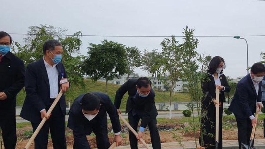 Học viện Nông nghiệp Việt Nam phấn đấu trồng thêm 5.000 cây xanh