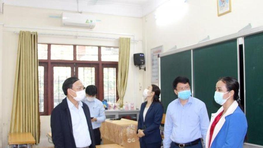 Quảng Ninh: Trường học sẵn sàng đón học sinh