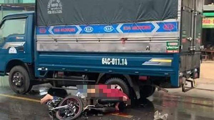 Va chạm với xe tải, thanh niên tử vong, người nguy kịch