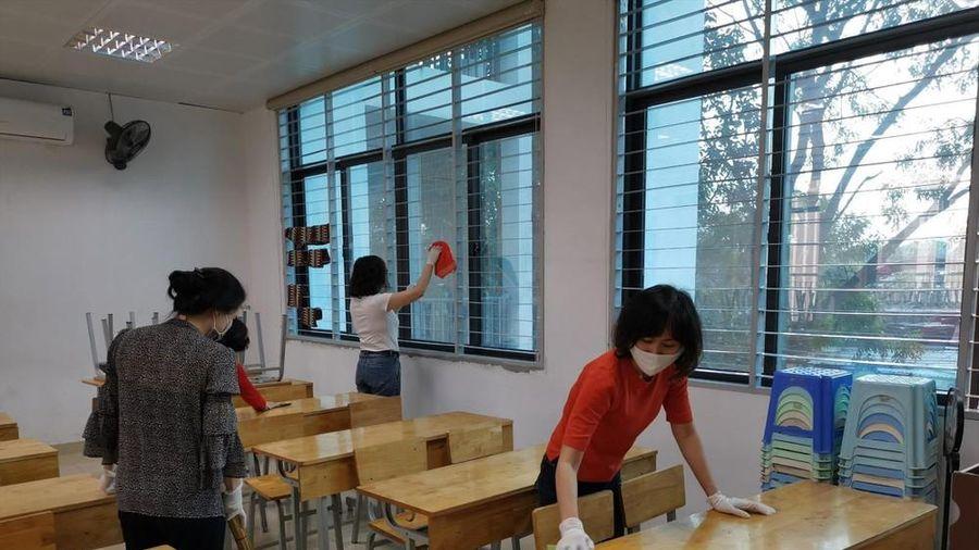 Chia khung giờ đón học sinh trở lại trường