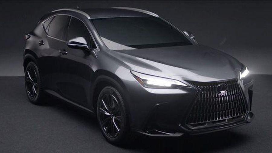 Rò rỉ hình ảnh đầu tiên của Lexus NX 2022