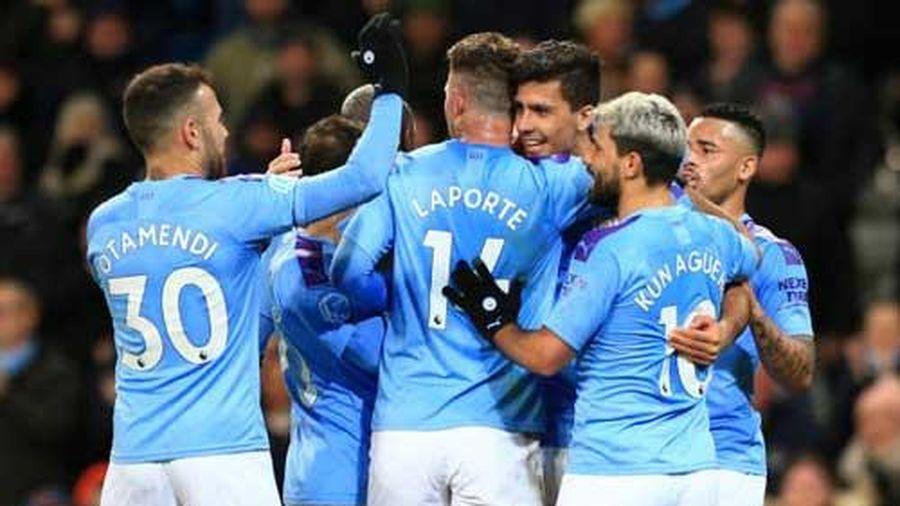 Kết quả Man City 2-1 West Ham: Cặp trung vệ cùng ghi bàn, Man City thắng 14 vòng liên tiếp