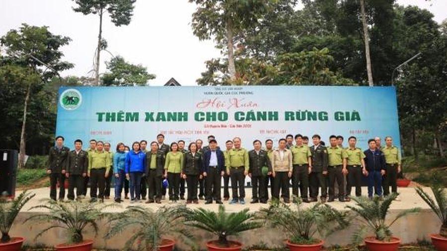 Bế mạc Hội Xuân Cúc Phương - Thêm xanh cho cánh rừng già