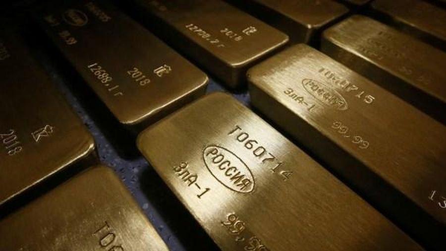 Giá vàng thế giới tháng Hai giảm mạnh nhất trong hơn 4 năm