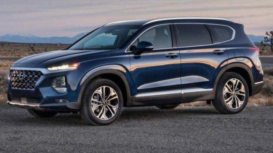 Hyundai SantaFe giảm giá mạnh tay sau Tết