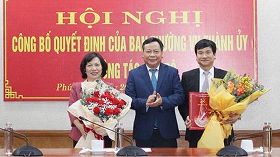 Hà Nội có tân nữ Bí thư Quận ủy Tây Hồ