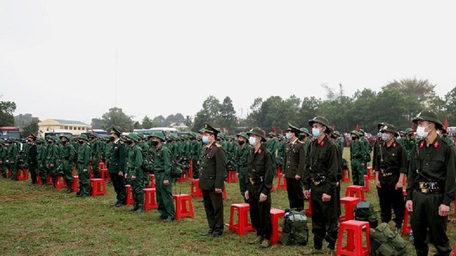 Thanh Hóa có hơn 4.000 tân binh lên đường nhập ngũ