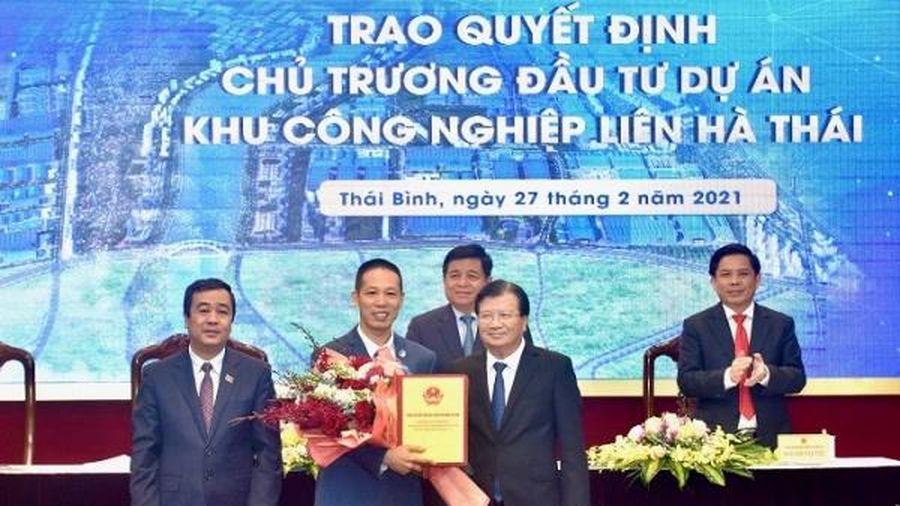 Thái Bình đón thêm khu công nghiệp đô thị 3.885 tỷ, quy mô gần 600ha