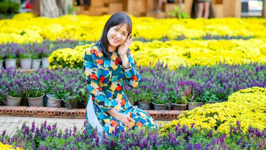 Bốn mùa hoa rực rỡ