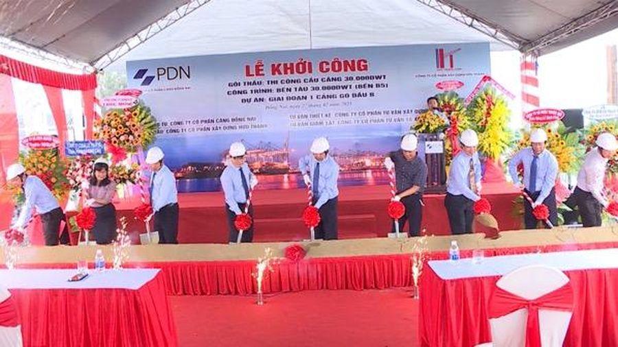 Khởi công xây dựng bến tàu 30.000DWT thứ 2 tại Cảng Gò Dầu