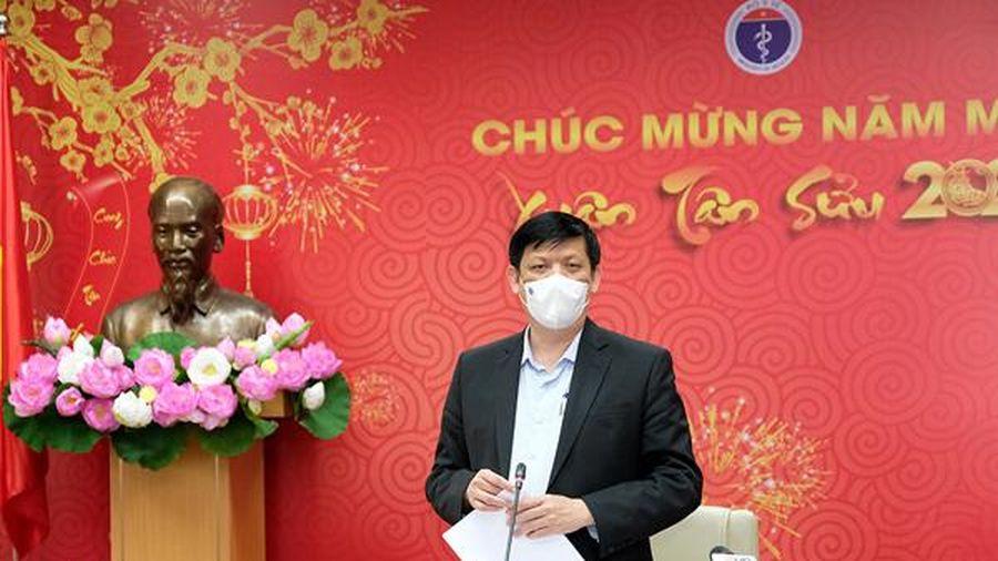 Bộ trưởng Y tế: Đảm bảo an toàn tuyệt đối cho người dân khi tiêm vắc xin Covid-19