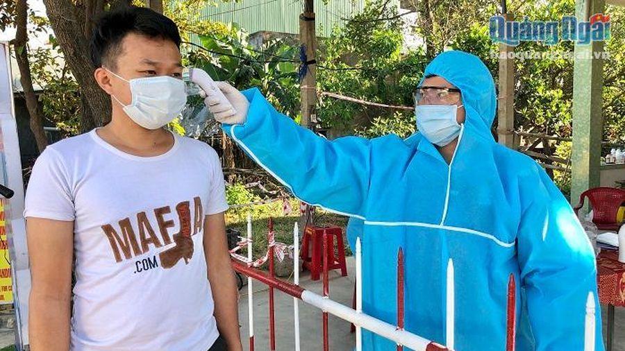 Quảng Ngãi: Tiếp tục duy trì 5 chốt kiểm tra y tế đường bộ, đường sắt