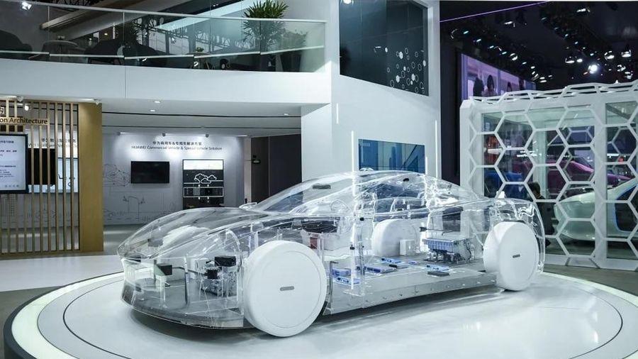 Sắp có xe điện mang tên Huawei