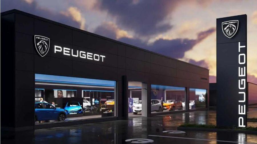 Peugeot giới thiệu logo thương hiệu mới