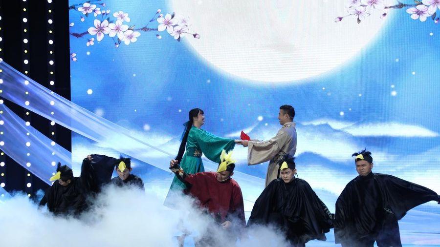 Thúy Ngân - Trương Thế Vinh hóa 'Ngưu lang - Chức nữ' cực tình cảm