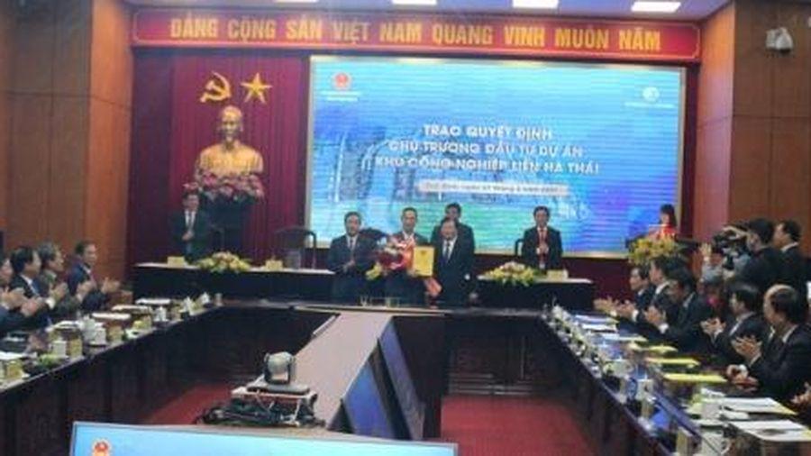 Đầu tư gần 4.000 tỷ đồng xây dựng hạ tầng KCN Liên Hà Thái tại Thái Bình
