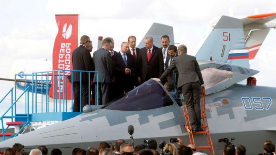 Thổ Nhĩ Kỳ bắt đầu đàm phán mua Su-35 và Su-57 của Nga