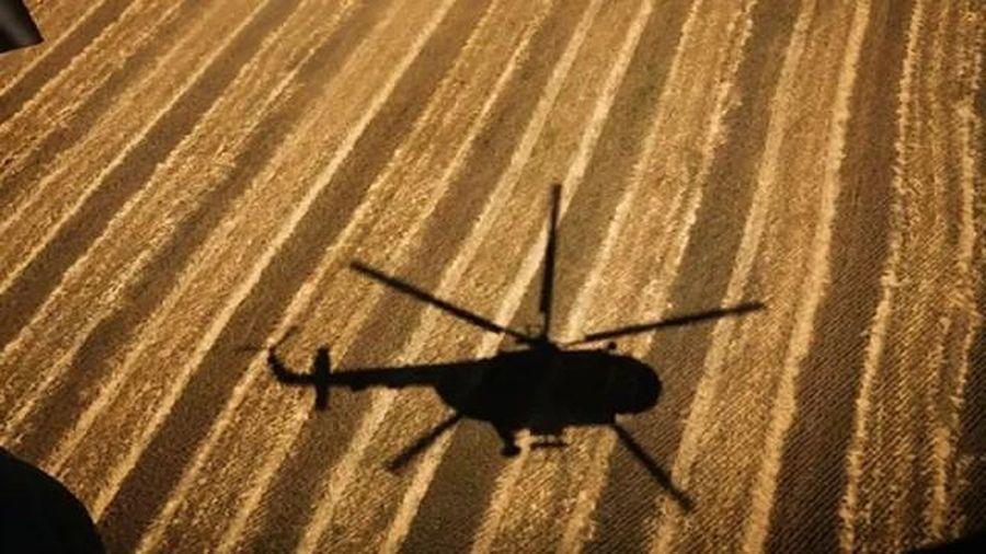 Trực thăng Nga hạ cánh khẩn cấp ở Syria