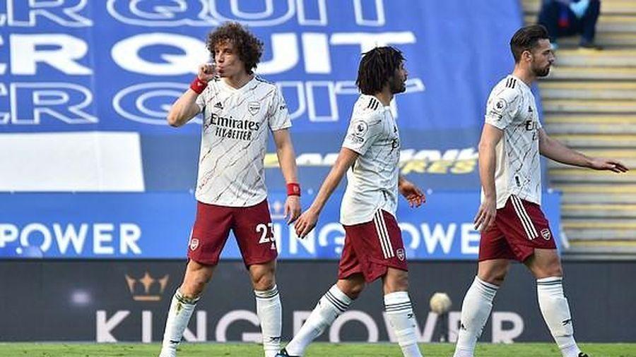 Arsenal ngược dòng đánh bại Leicester City