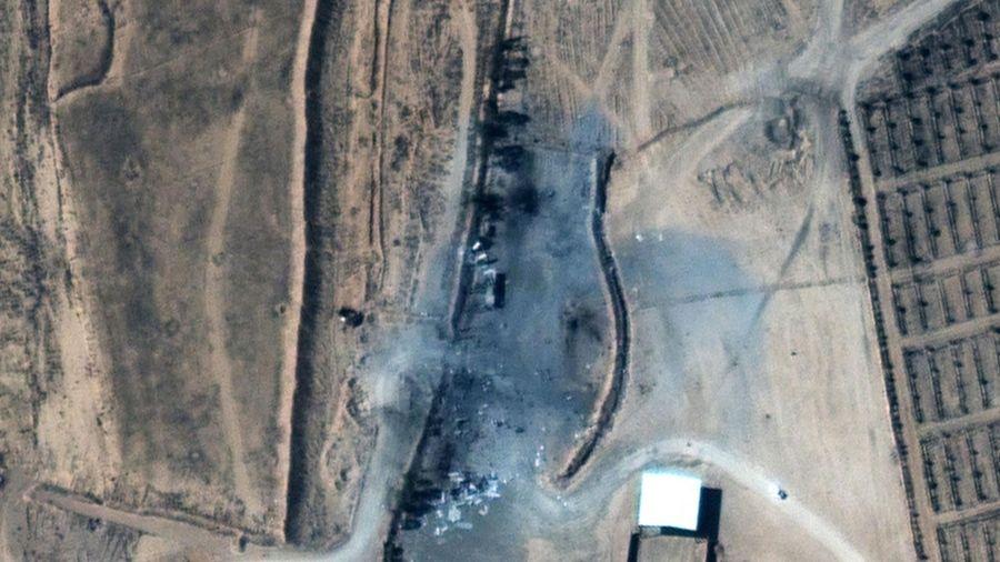 Ảnh vệ tinh hé lộ hậu quả đợt dội bom của chính quyền ông Biden