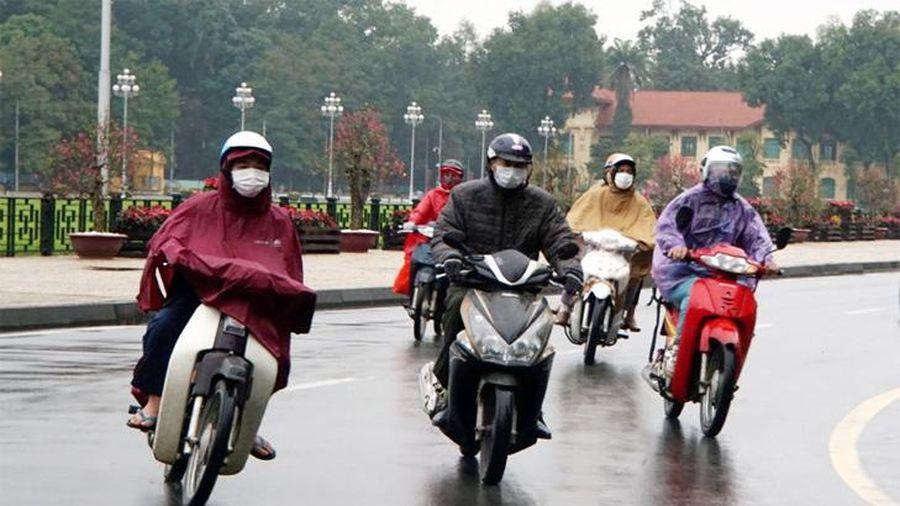 Thời tiết hôm nay 28/2: Hà Nội nhiều mây, sáng và đêm có mưa, trời lạnh