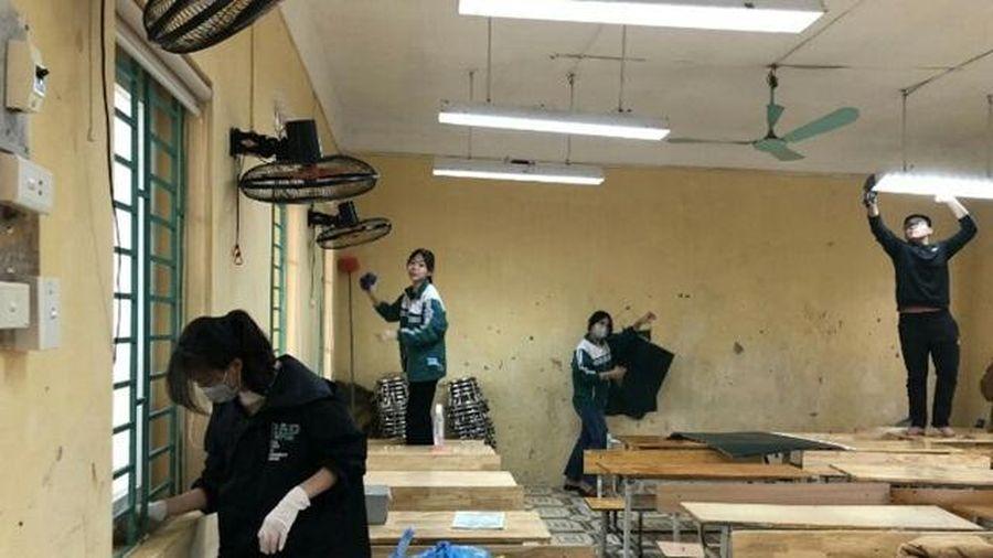 Huyện Phú Xuyên chuẩn bị điều kiện tốt nhất đón học sinh đi học trở lại