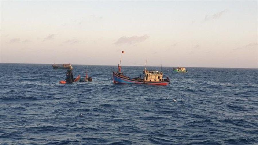 Vụ tàu cá bị sóng đánh chìm, 5 người chết và mất tích: Tìm thấy 2 thi thể